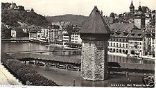 Suisse - LUZERN - Der Wasserturm