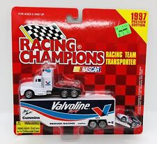 RACING CHAMPIONS #6 MARK MARTIN VALVOLINE TEAM TRANSPORTER 1997 PREVIEW EDITION