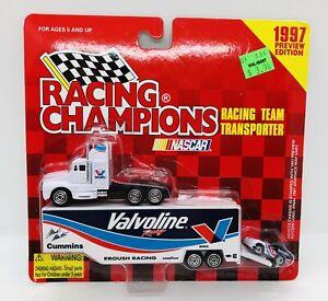 RACING CHAMPIONS #6 MARK MARTIN VALVOLINE TEAM TRANSPORTER 1997 PREVIEW EDITION