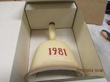 "Hummel-Goebel ""In Tune"" Annual Bell 1981 Mib! Very Beautiful! With Box!"