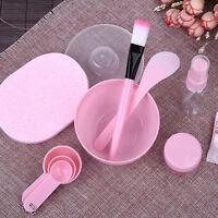Homemade 9 in1 Makeup Beauty DIY Facial Face Mask Bowl Brush Spoon Stick Tool