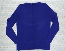 BEAUTIFUL ROYAL BLUE 100% CASHMERE JUMPER by MARKS AND SPENCER. SIZE 16.