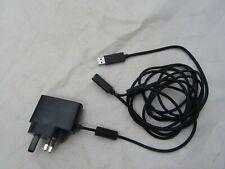 MICROSOFT XBOX 360 KINECT SENSOR MAINS POWER SUPPLY ADAPTER UK AC USB