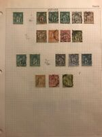 France Stamp # 64 Unused H $125 + Mix Of Early Used 1876-1878 French Stamps
