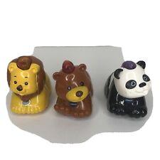 VTech Go! Go! Smart Wheels Zoo Animals Lion , Panda  ,Bear Lights/Sounds B4