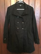 ASOS BLACK DOUBLE BREASTED JACKET SIZE UK 8 USA 4 EUR 36