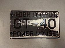 Pro 5.0 Custom '86-'93 Mustang GT-40 Intake Manifold Cover HO