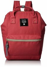 New Japan Anello Backpack Unisex MINI SMALL RED Waterproof Canvas Bag Campus