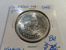 O28 South Africa 1948 5 Shillings BU