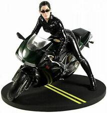 Trinity on Motorcycle Matrix Reloaded  1/6 Scale Statue  Gentle Giant