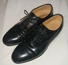 Johnston & Murphy Optima Comfort Black Wingtip Oxford Men's Leather Shoe Sz 9D/B