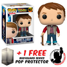 Funko Pop Back To The Future Marty 1955 #957 Vinyl Figure + Pop Protector