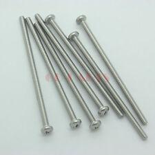 10PCS M4*80mm 304 Stainless Steel Pan Head Philip Recess Screw Nut Bolt Fastener