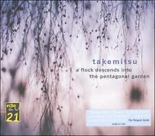 """TORU TAKEMITSU : """"A Flock Desends Into Pentagonal Garden"""" DGG Digipak CD EX Cond"""