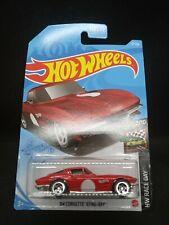 2021 Hot Wheels #10 Red 64 Corvette Stingray HW Race Day