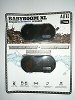 "Altec Lansing Babyboom XL Rugged Bluetooth Speaker - 2 Pack Black ""NEW"""