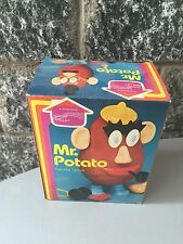 1982# HASBRO PLAYSKOOL VINTAGE MR POTATO change Face#boxed Full