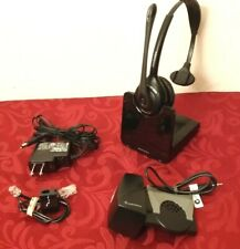 PLANTRONICS CS510 MONAURAL HEADSET LIFTER  N EW BATTERY WIRELESS  HL10 CS500