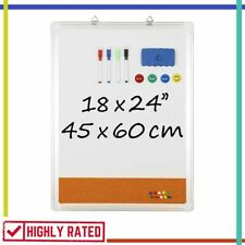 WHITE BOARD Dry Erase Whiteboard for Kids Education Writing Drawing NAVY PENGUIN
