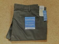 New Dockers The Clean Khaki Slim Tapered Fit Chino Trousers W40 L34 Grey