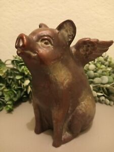Flying Pig Latex molds mould for making concrete or plaster statues