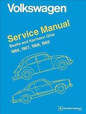 Volkswagen Beetle and Karmann Ghia Service Manual, Type 1: 1966, 1967, 1968, .
