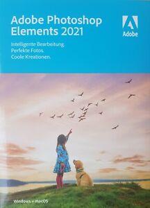 Adobe Photoshop Elements 2021 Vollversion deutsch für Win + Mac - NEU & OVP