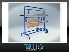 T4W 2P Film- paper roll dispenser rack / 3 rolls automotive auto body