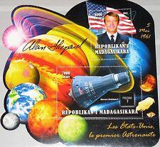 MADAGASKAR MADAGASCAR 2012 unlisted 1st US Astronaut Alan Shepard Space MNH