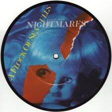 """A FLOCK OF SEAGULLS - NIGHTMARES - 7"""" PICTURE VINYL EXCELLENT CONDITION 1983"""