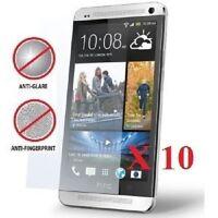 10 X HTC One (M7) Anti-Glare (Matte) LDC Screen Protectors Film Cover & Cloth