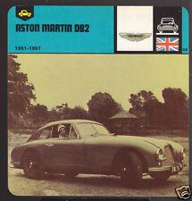1951-1957 ASTON MARTIN DB2 DB-2 Car Picture AUTO CARD