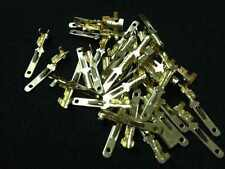 100x 2.8mm Crimp Terminal male Spade Connector blade wire contact pin Gold Color