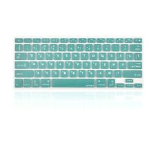 "Russian / English AQUA Silicone Keyboard Cover Skin for Macbook Pro 13"" 15"" 17"""