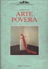 Arte pauvre. dans soin par Germano Celant. Allemandi. 1989. Y11