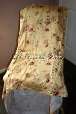 Waverly Sanata Rose Standard Chair Cover Shabby Cottage Chic Red Roses B15