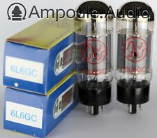 JJ 6L6 GC 7027-A valves (tubes) Matched Pair - Australian stock, fast delivery
