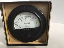 Vintage Electrical Meter Amps Simpson for mancave steampnk and other projects