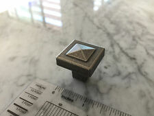 Sonoma Cabinet Hardware Montana Knobs Knob Antique Pewter Kitchen Country Square