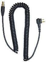Racing Headset Coil Cord Motorola 2 Pin