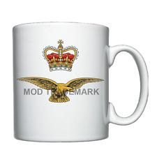 Royal Air Force Eagle and Crown Badge / Logo / Crest -  RAF  -  Personalised Mug