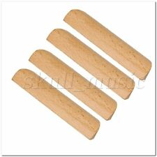 10Pieces 96mm Pitch Wooden Cabinet Hardware Handle Pull for Cupboard Drawer
