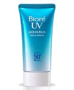 Biore UV AQUA RICH Sunscreen Sunblock Japan Watery Essence SPF50+ PA+++ 15g