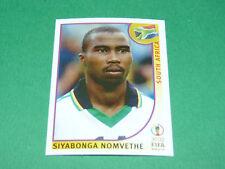 N°166 NOMVETHE SOUTH AFRICA PANINI FOOTBALL JAPAN KOREA 2002 COUPE MONDE FIFA