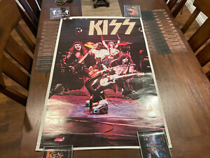 Kiss Poster-1975 Alive Original Boutwell-One Stop Posters 23x36  Ex Condition