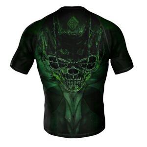 HighType Skull Rash Guard, MMA Shorts, Spats