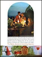 1972 Tia Maria Jamaica liqueur Round Hill Montego Bay photo print Ad ads9