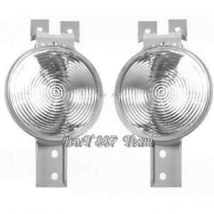 FOR MINI COOPER 2002-2006  R50 R52 R53 BUMPER TURN SIGNAL LIGHT SET PAIR