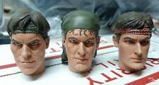 1/6 Scale Sideshow Platoon head sculpt set of 3