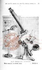J H Steward CATALOG 1871 Optical Instruments Opera Glasses Telescope Microscope